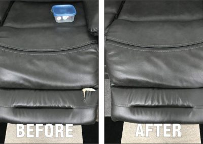 APLUS LEATHER REPAIRS - Before After 0209